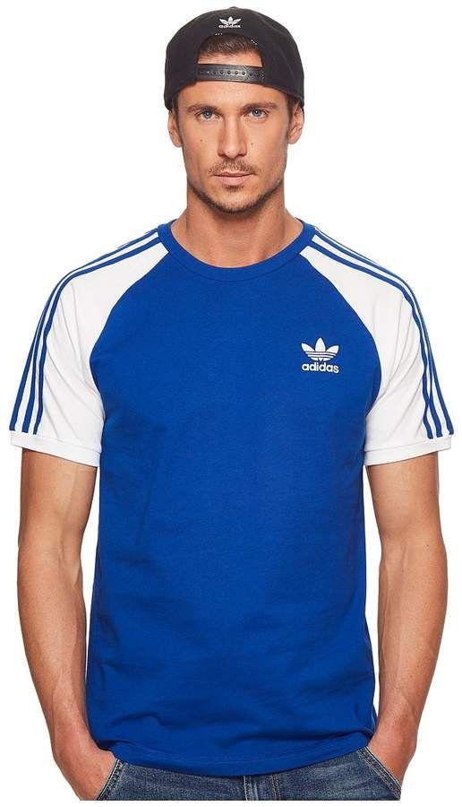 adidas 3-Stripes Tee | Mens tees, Striped tee, Mens tshirts