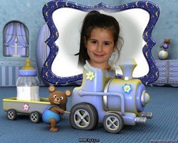 Fotomontajes para bebés en estas Imágenes infantiles.