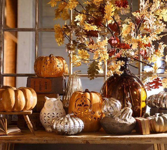 Decorar en otoño / Decorate in autumn
