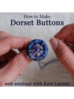Learn the history of and create your own Dorset Buttons | InterweaveStore.com