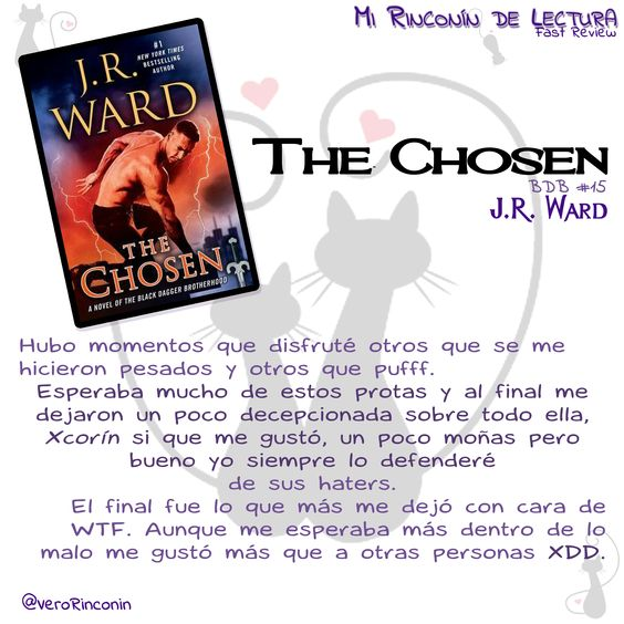 #FastReview The chosen, J.R. Ward