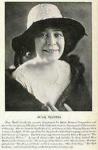 June Mathis (1889-1927) was an American screenwriter and one of the highest paid Hollywood executives in the 1920s.  Mathis was the first female executive for Metro/MGM and at only 35, she was the highest paid executive in Hollywood. In 1926 she was voted the third most influential woman in Hollywood, behind Mary Pickford and Norma Talmadge.  She discovered Rudolph Valentino. #film