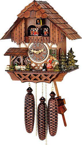Cuckoo Clock 8 Day Movement Chalet Style 32cm By Hubert Herr 65 36 8 V Ku Rm Cuckoo Clock Antique Mantel Clocks Clock