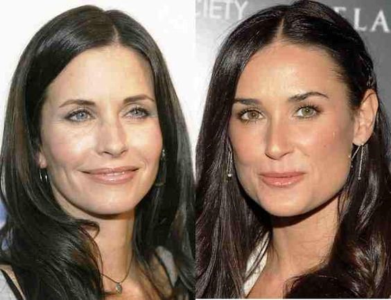 Celebrity Demi Moore Plastic Surgery Before And After ...