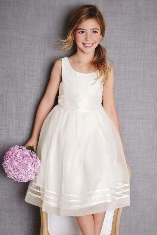 Buy Ecru Sash Bridesmaid Dress (3mths-16yrs) online today at Next: Australia