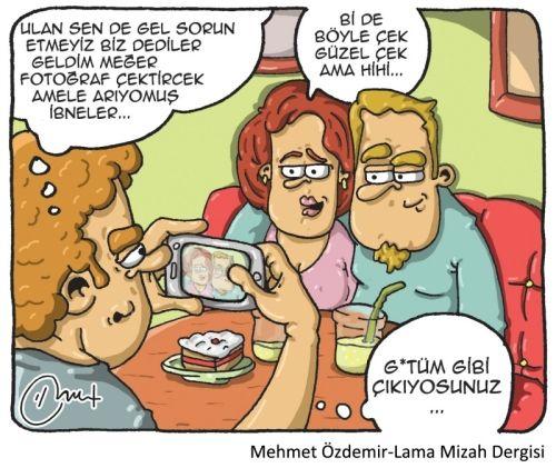 Karikatur Tv Karikatur Mizah Komik Seyler