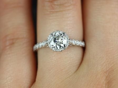 halo engagement rings on hand google search halo rings