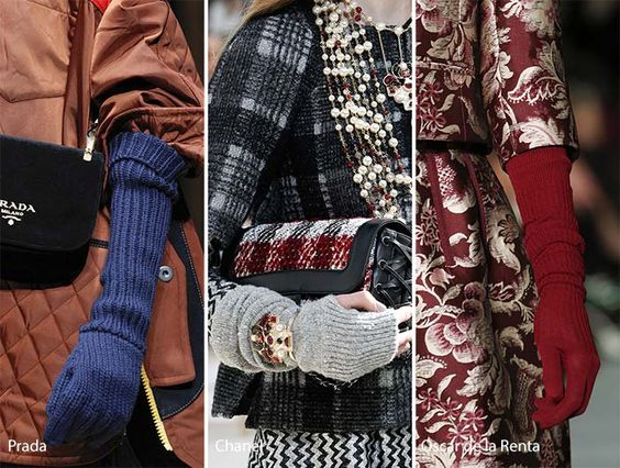 Fall/ Winter 2016-2017 Accessory Trends: Knitted Gloves: