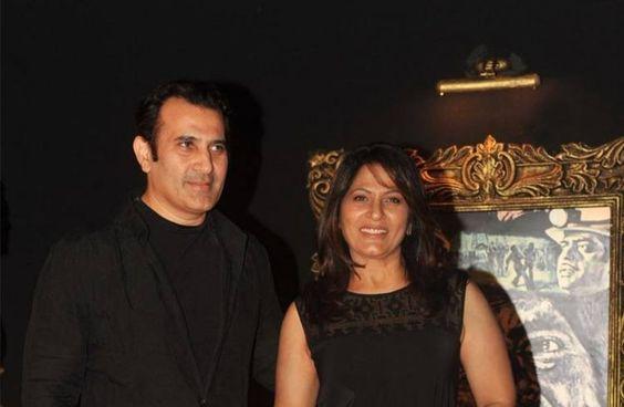 Archana Puran Singh and Parmeet Sethi