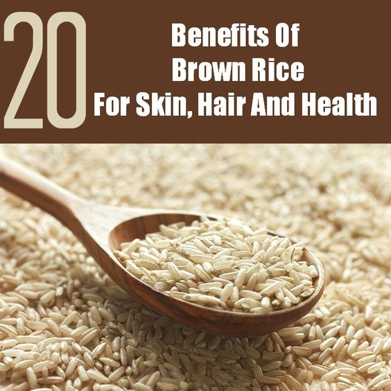 20 Amazing Benefits Of Brown Rice For Skin, Hair And ...