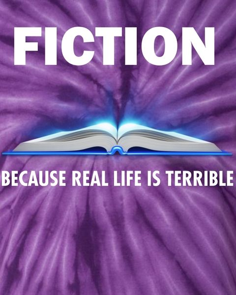 Afbeeldingsresultaat voor fiction because real life