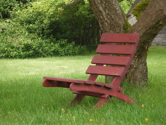 Outdoor Folding Chair Plans Wooden Outdoor Garden