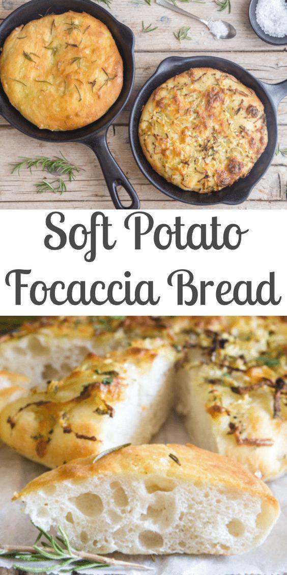 Italian Potato Focaccia Bread Recipe