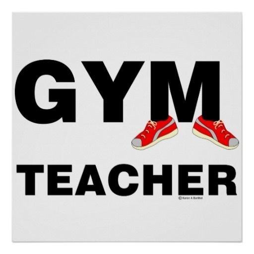 Cheap Gym Teacher Sneakers Poster Gym Teacher Sneakers Poster in ...