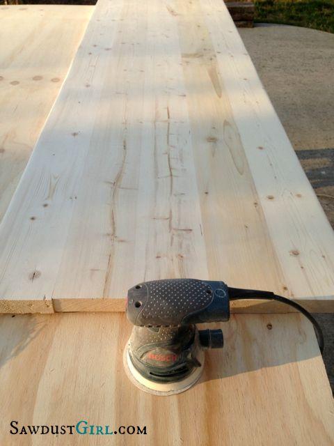 Making Wood Countertops   SawdustGirl.com | For The Home | Pinterest | Wood  Countertops, Countertops And Woods