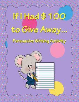 Persuasive essay on charity