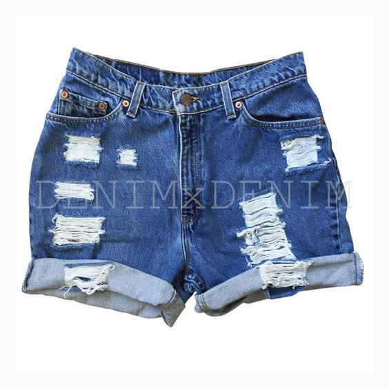 Vintage Levi High Waisted Shorts Low Rise Boyfriend Shorts ...