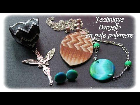 Tuto fimo/polymère Technique Bargello n°2 - YouTube