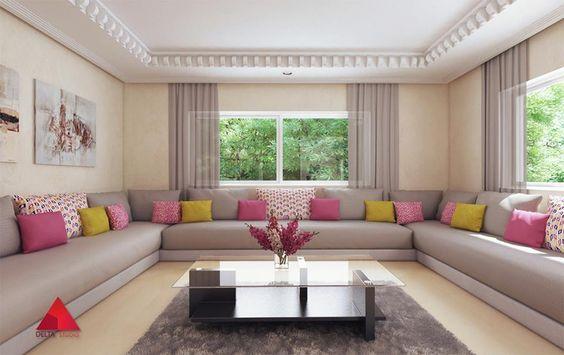Salon Marocain, Delta Studio #Moroccan #Design #Home