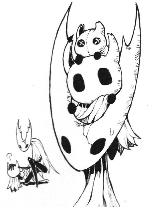 Pin By Strawberry Mel On Hollow Knight Hollow Art Chibi Coloring Pages Knight Art
