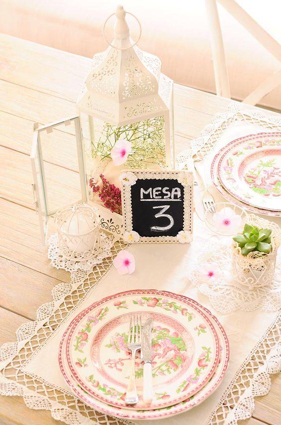 Como hacer un centro de mesa romantico con jaulas vintage - Como hacer centro de mesa ...