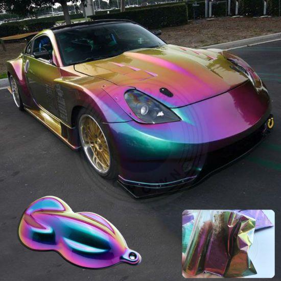 Hot Item Chrome Chameleon Powder Color Shift Pigment For Car Coating Car Paint Colors Car Coating Car Painting