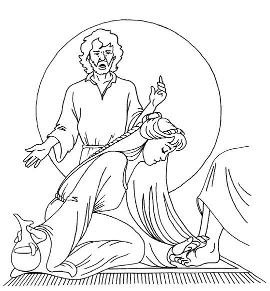 Jesus Washing Feet Coloring Sheets 10 Image Sunday School