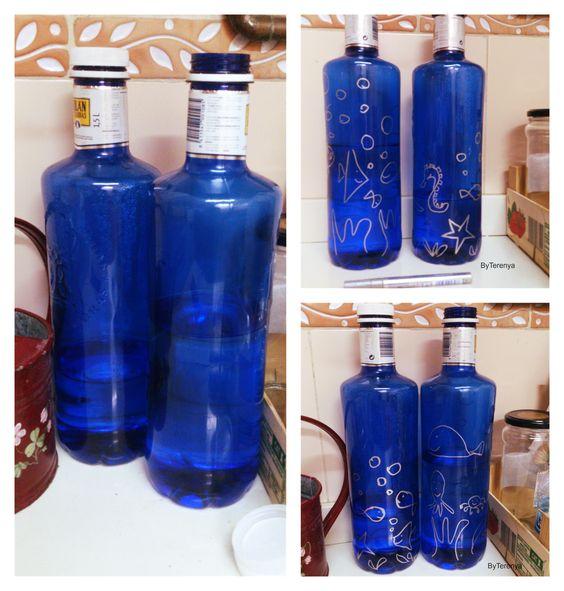 By Terenya, Con mis Ojos y mis Manos: Bonito con botellas