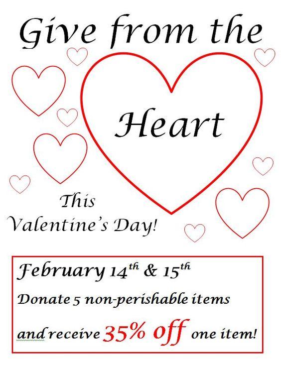 Valentine Sale!