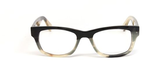 "Penn Avenue Eyewear Buffalo horn glasses Buffalo horn glasses in ""Billy"" style by Penn Avenue Eyewear, $179 for frame only or $249 with prescription lenses installed in Pittsburgh lab. (www.pennavenueeyewear.com)"
