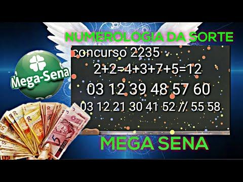 Acerte As 6 Dezenas Da Mega Sena Com O Metodo Numerologia Youtube Mega Sena Numerologia Sorte No Jogo