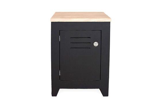 Locker voor op je slaapkamer is deze houten locker nachtkastje de uitkomst gemaakt van mat - Slaapkamer hout ...
