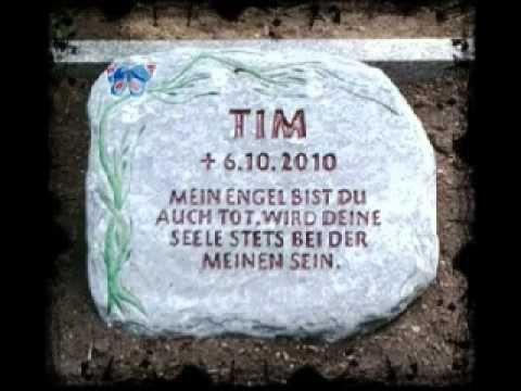 Eine Kinderbotschaft von Tim - Ich habe meinen Grabstein bekommen!