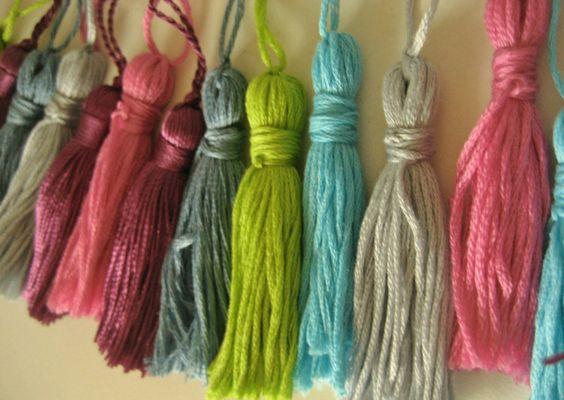 Borlas de lana o hilo para cualquier tipo de decoraci n for Adornos para decorar la casa