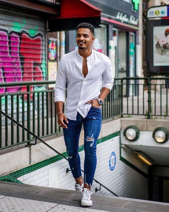 Inspirações moda masculina elegante