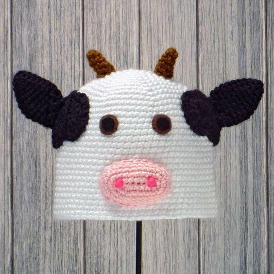 Crochet Pattern Cow Hat : Pinterest The world s catalog of ideas