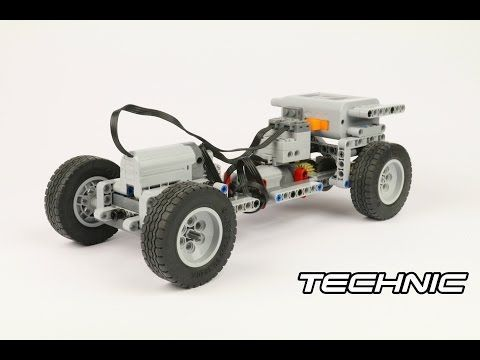 Lego Technic Rc Simple Chassis W Instructions Informations About
