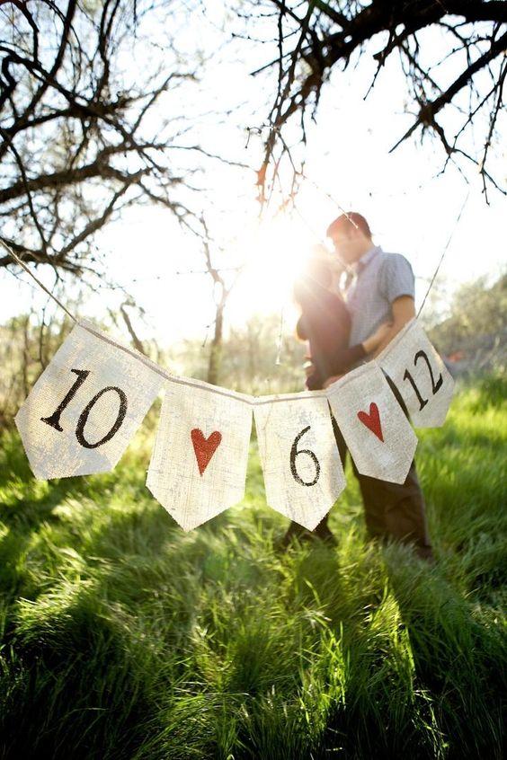 Banderines con mensajes imprimibles | Preparar tu boda es facilisimo.com