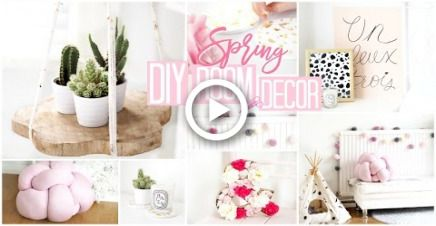 Diy Room Decor 6 Quick Easy Spring Diys Becca Rose Diy Room