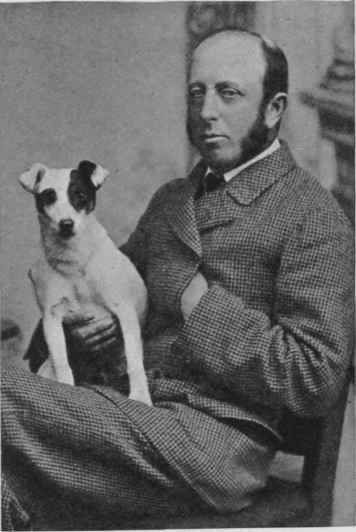 Mr. J. A. Doyle with his Smooth terrier Beggarman