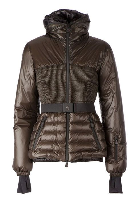 Moncler Grenoble Chambery Jacket, $1,154; farfetch.com Courtesy of Retailer   - 15 Chic Puffer Jackets You'll Actually Want to Wear - Elle
