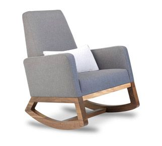 joya rocker - contemporary rocker chair - modern nursery furniture by Monte Design