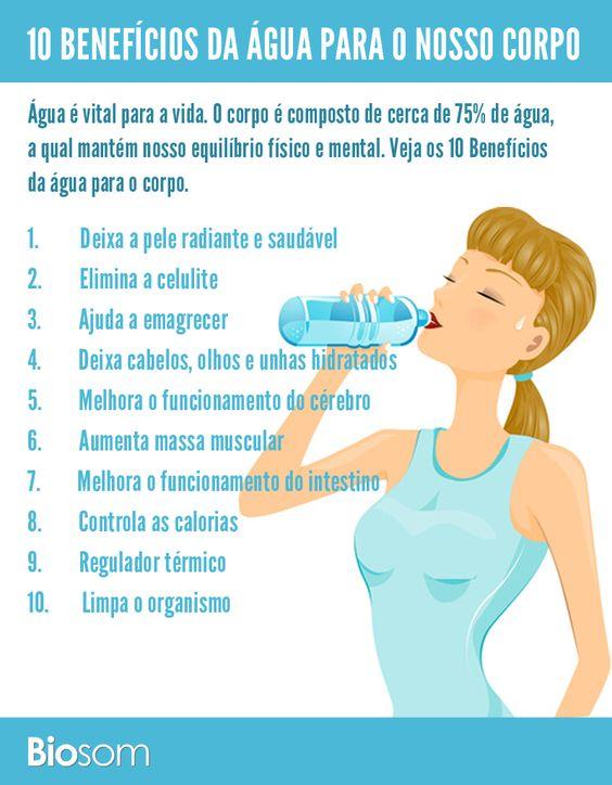 agua para o corpo