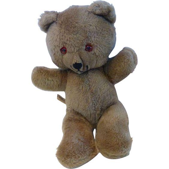 "Vintage Knickerbocker Animals of Distinction Teddy Bear Original Tag Label 14"" Stuffed Animal."
