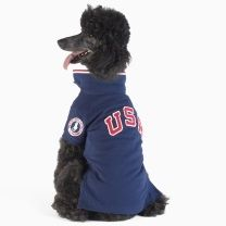 Go USA! Ralph Lauren Home Team USA Mesh Dog Polo  $55.00