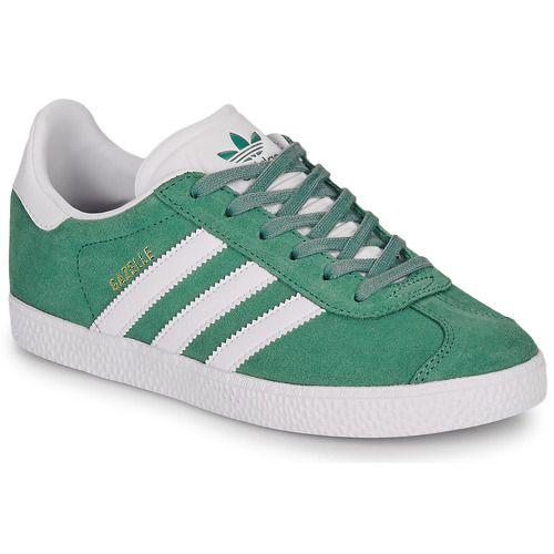 adidas gazelle basse vert