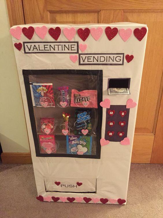 valentine vending machine my kiddos pinterest valentines and vending machine. Black Bedroom Furniture Sets. Home Design Ideas