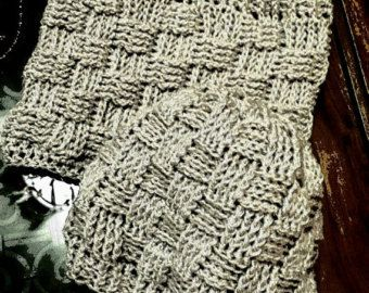 handmade crochet beanie and neck warmer beige unisex (all sizes) basket wave easy fit comfy modern on sale 20% off