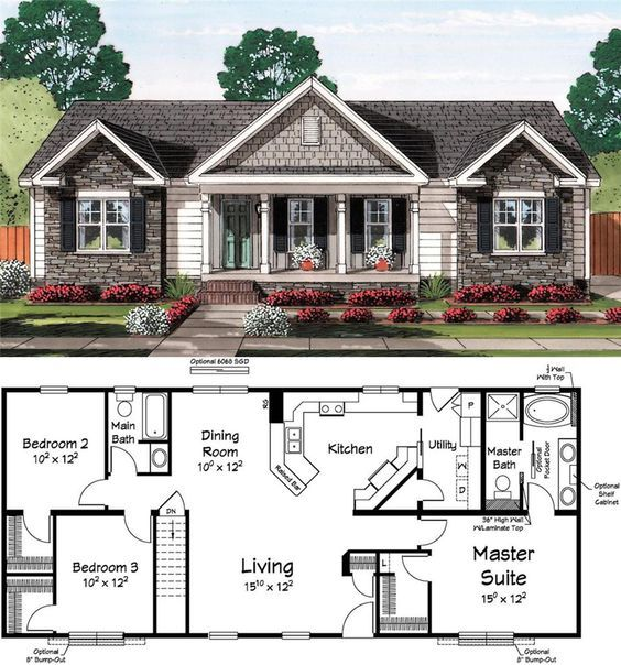 Classic Curb Appeal Housing House Plans I Love Pinterest - Brick home floor plans