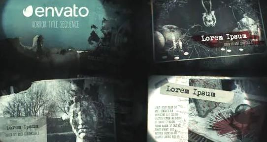 Halloween Title Sequence 2020 VIDEOHIVE HORROR TITLE SEQUENCE #action #aftereffectsproject